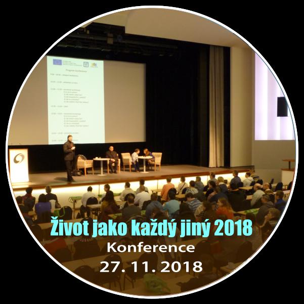 Konference Život jako každý jiný 2018 - Praha, 27. 11. 2018